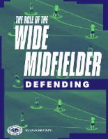 The Role of the Wide Midfielder Defending