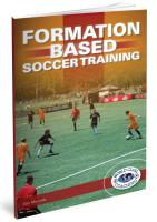 Formation Based Soccer Training - Printed