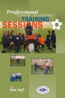 Professional Youth Academy Training Sessions - Printed