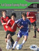 Full Season Training Program U12 8v8 - Printed