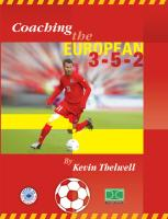 Coaching the European 3-5-2 - Printed