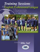 Training Sessions of English Professional Teams