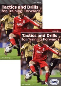 Tactics & Drills For Training Forwards Vol 1&2 DVDs
