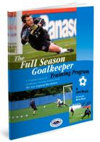 Full Season Goalkeeper Training Program - Printed