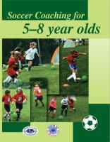 Soccer Coaching For 5-8 Year Old's - Printed