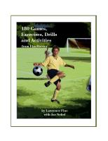 180 Games, Exercises & Drills From FineSoccer - Printed