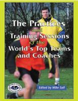Practices and Training Sessions of the World's - Printed