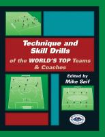 Technique and Skill Drills of the World's Top Teams and Coaches - Printed