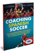Coaching Spanish Soccer - Printed