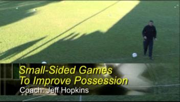 Small-Sided Games to Improve Possession