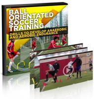 Ball Orientated Soccer Training - Drills to Develop Anaerobic and Aerobic Endurance Videos