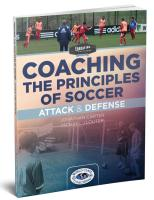 Coaching the Principles of Soccer- Attack and Defense - Printed