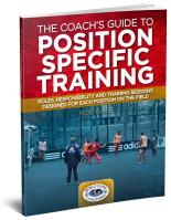 The Coachs Guide to Position Specific Training - Printed
