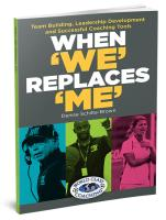 When We Replaces Me - Printed